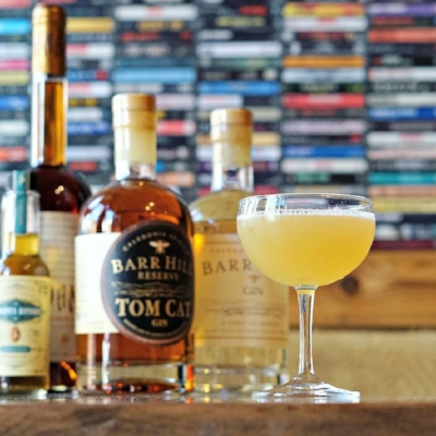 """A riff on the Bee's Knees by EatBar called """"The Killer Queen"""""""