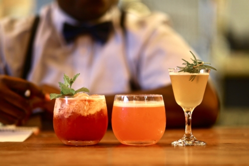 Round 1 Cocktails (Photo Credit: Charlie Berkinshaw)