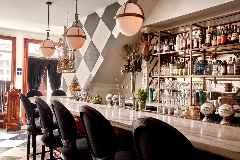 Downstairs Bar at  Friday Saturday Sunday  (Photo Credit: Jason Varney)