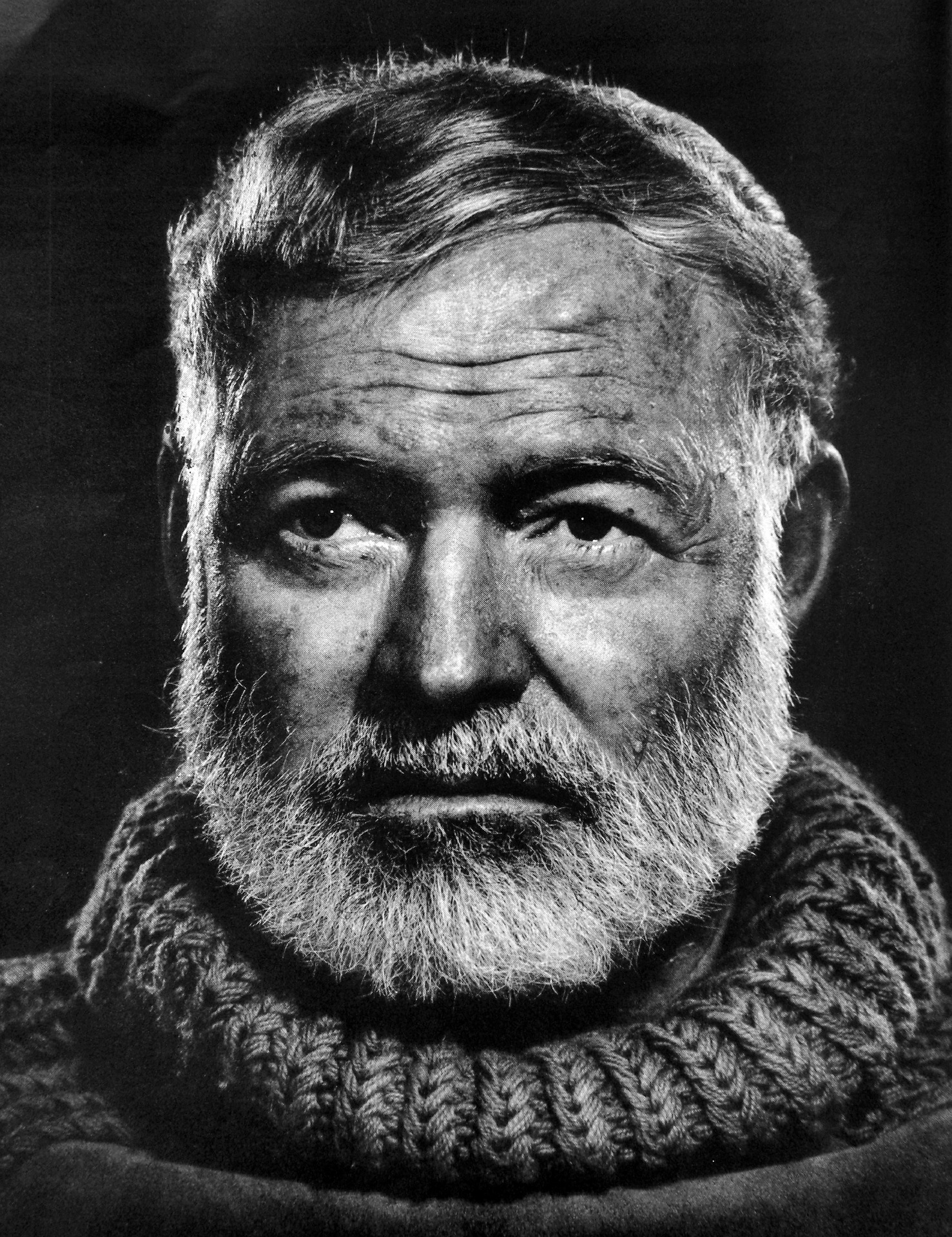 """""""I'll have a double."""" -  Ernest Hemingway"""