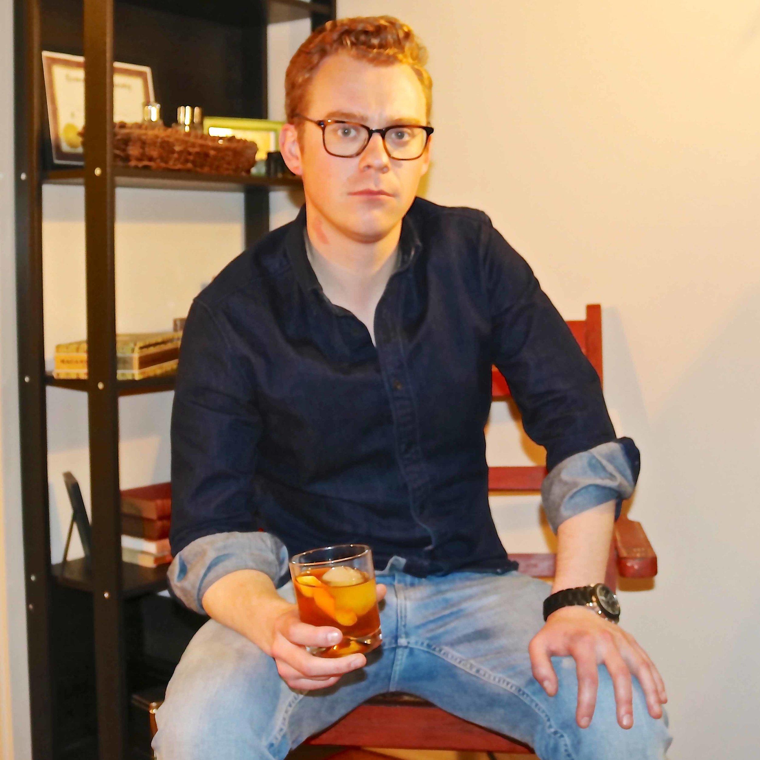Modern Bar Cart Co-Founder Ethan Hall