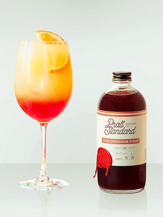 Tequila Sunrise, Feat. Pratt Standard Grenadine