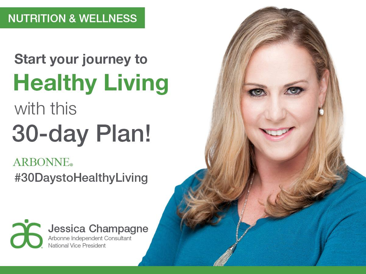 Jessica Champagne Arbonne: 30 Day Plan