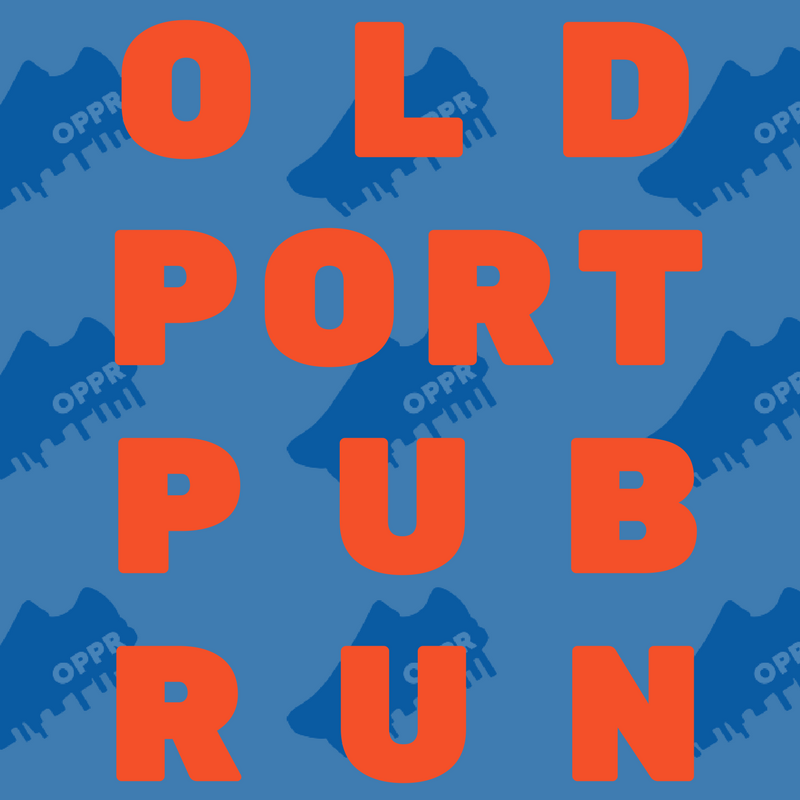 """""""OPPR: a free weekly run group in Portland, Maine with killer views and stellar brews. Join us!"""""""