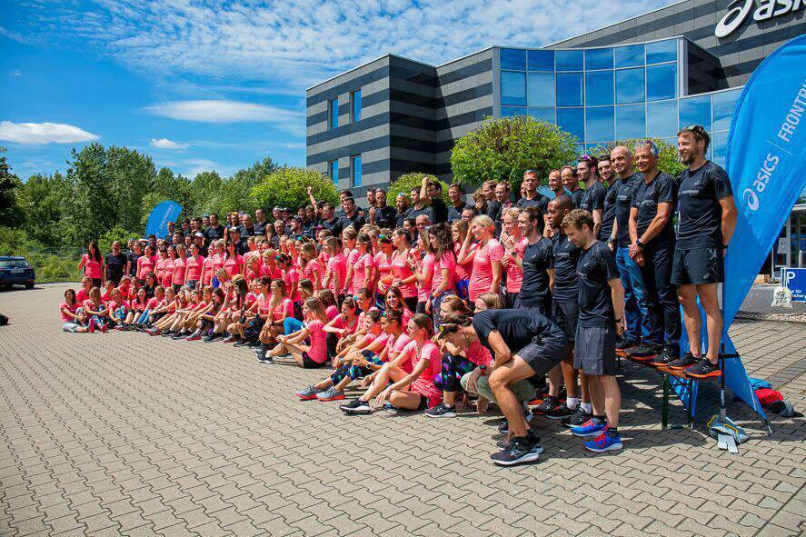 "ASICS's motto is 'Healthy Mind, Healthy Body'. ""It's great to work with a brand that holds the values I hold."" -MB"