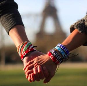 "INSTAGRAM PHOTO via  @LoveisProject ""Paris, je t'aime."" #bastilleday #loveisproject""Photo ©  @trailofcrumbs"