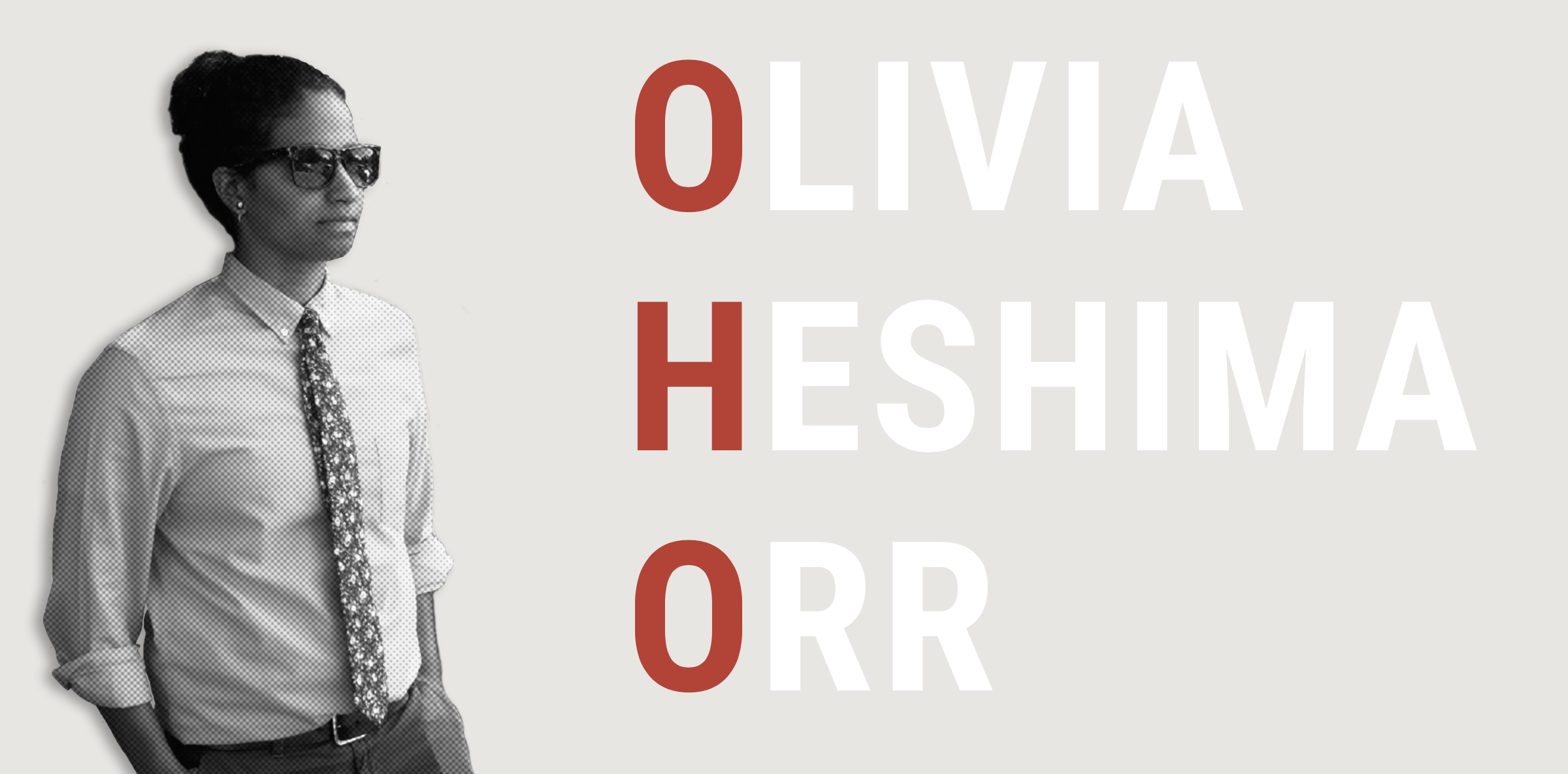 Olivia recently launched her  personal portfolio and wesbite .