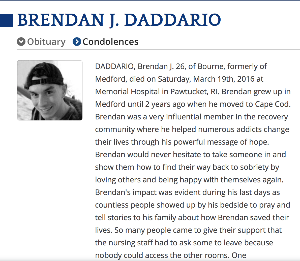 Team Brendan Forever.  Read More