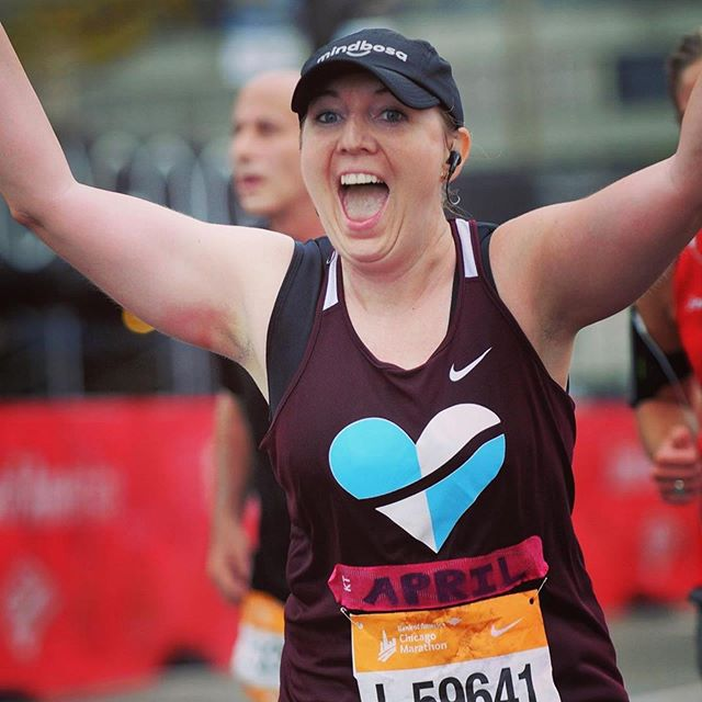 Important! Balancing Life, a 💭 from our friend @fit_nerd_runner ・・・ #tbt to feeling on top of the world at @chimarathon last fall even despite the pouring rain 🌧 with a wedding 16 days away, embarking on a new professional opportunity in September, and fitting in all sorts of life in between, on crazy mornings like today I remind myself that it is mind over matter and that I DID do hard things (mentally and physically) 💪🙌💪 tough days can definitely be kept in perspective with a few small reminders (like the marathon) and learning to be easy on yourself ❤️💙 what do you do to keep things in check when it feels like 🥴???