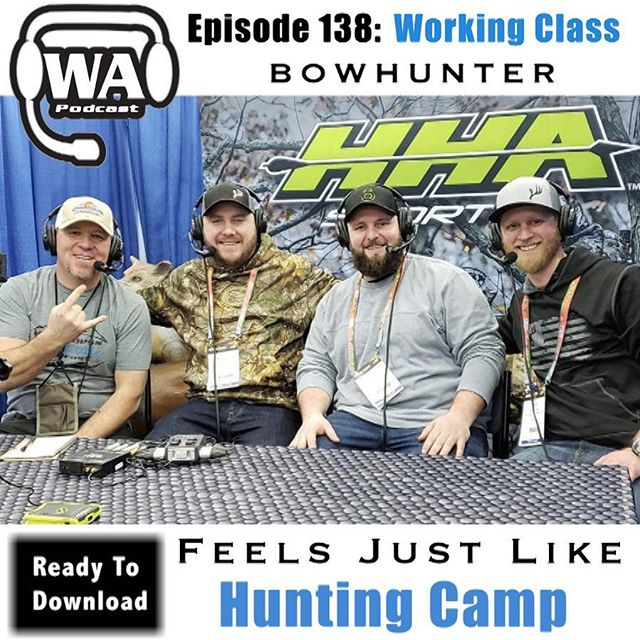 An all new podcast is up! Super excited to sit down with the @workingclassbowhunter crew, @curtgeierhunt , Stephen Moller & Eric Hamann @ericwcbpodcast to go down all sorts of rabbit trails. We talk about everything from hunting strategy differences between Eastern & Western hunting, why saddle hunting is the new craze, what the most ideal mid western buck is, cover some elk hunting tips for beginners, discuss ring avulsion,  what life is like as podcasters, and much more. If you are itching to be in hunting camp in the off-season, then tune in cause the only thing we are missing, is the campfire! Check it out- link in bio . . . #wildernessattitude #workingclassbowhunter #goodtimes #huntingcamp #elkhunting #whitetailhunting #huntingstories #saddlehunting #campfirelife  #iamabowhunter #archeryelkhunting #coloradoelkhunting