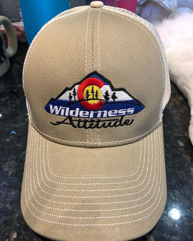 Who wants one? $25 message us to order yours today! #wildernessattitude #wildernessattitudepodcast #coloradohat #colorado #podcast #hat