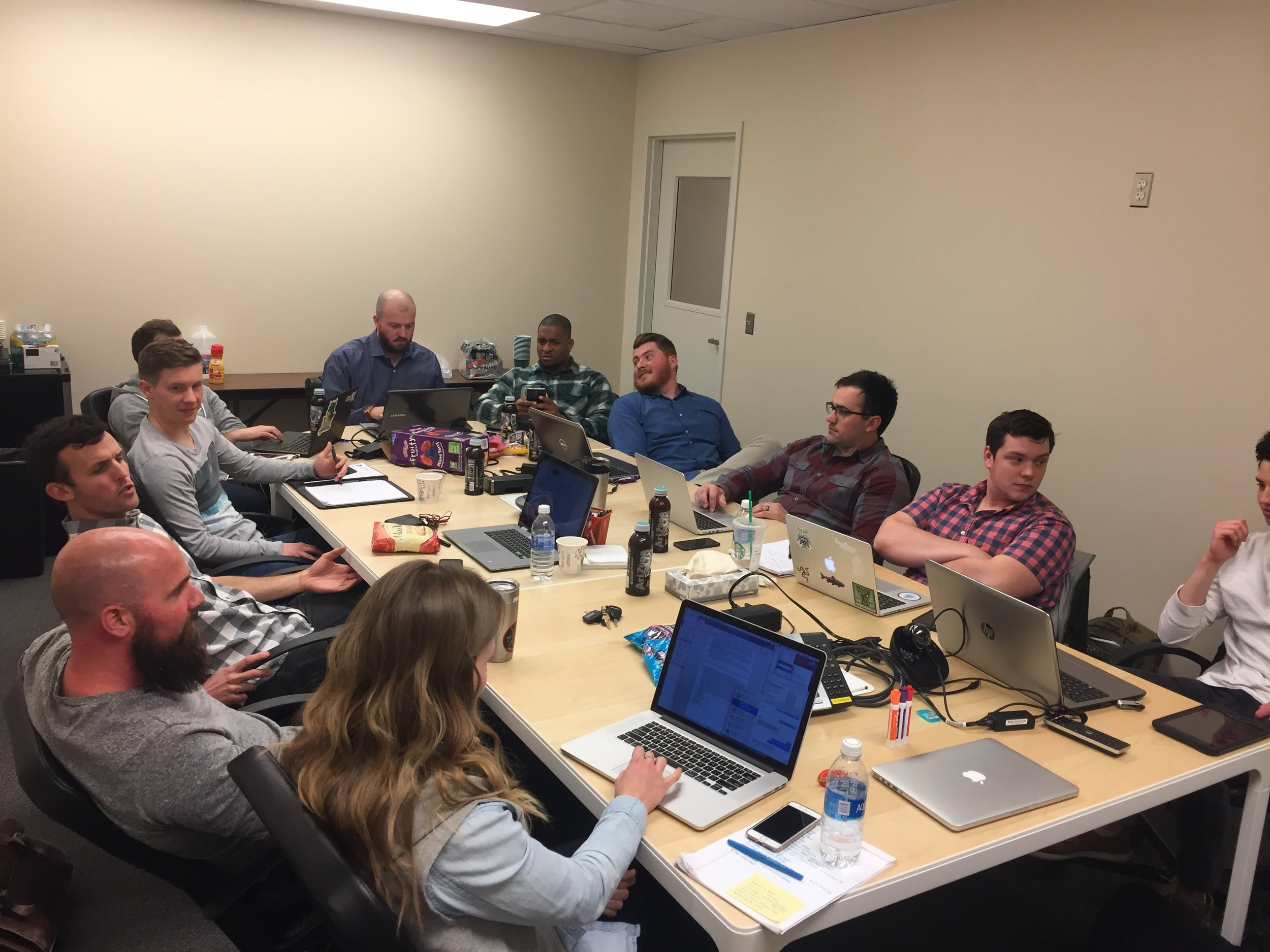 A few of staff that make up our multi-site student ministry team