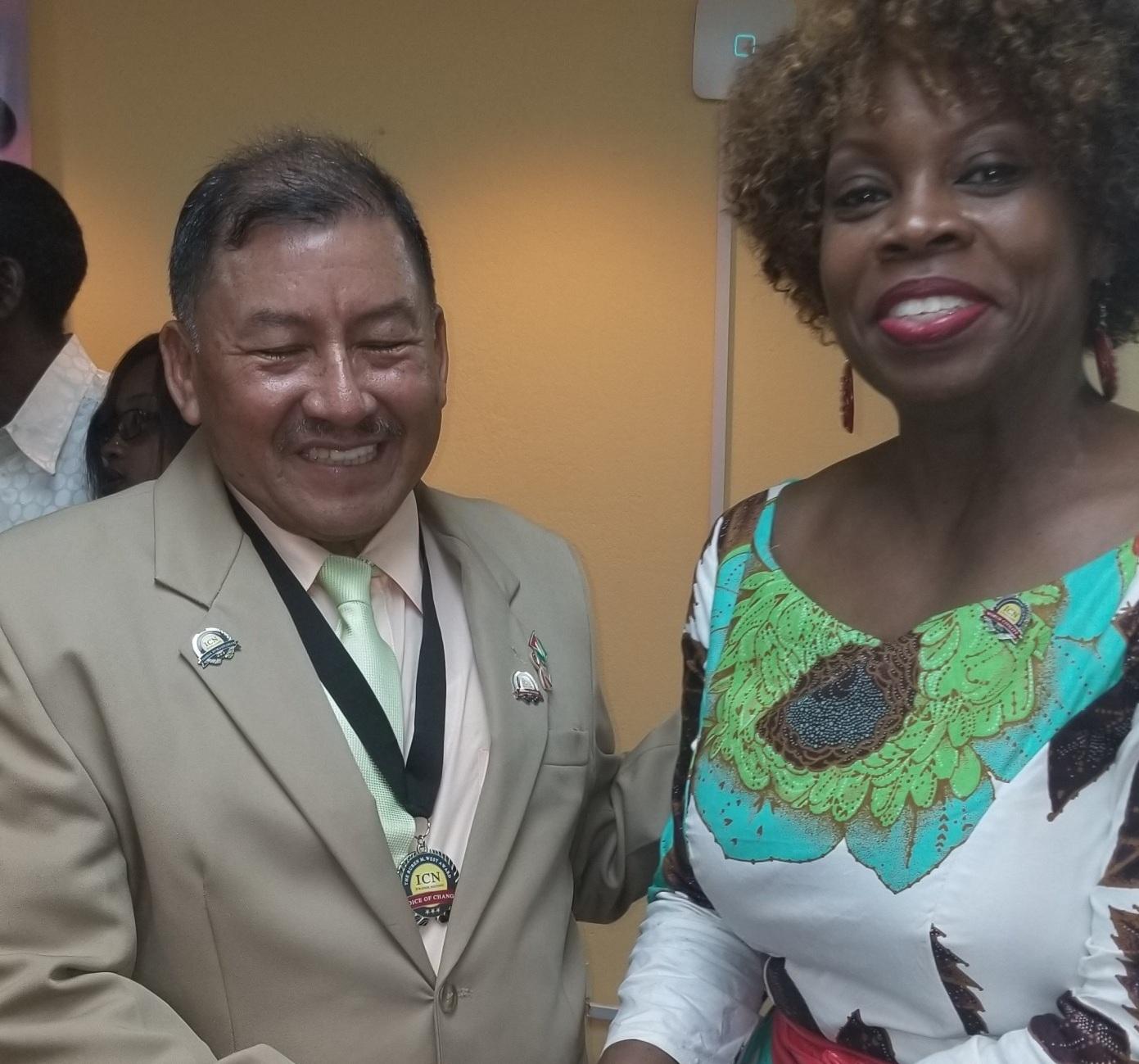 VP of Guyana - Hon. Sydney Allicock