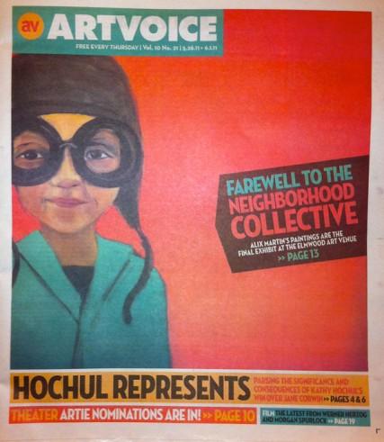 Artvoice Mag Cover