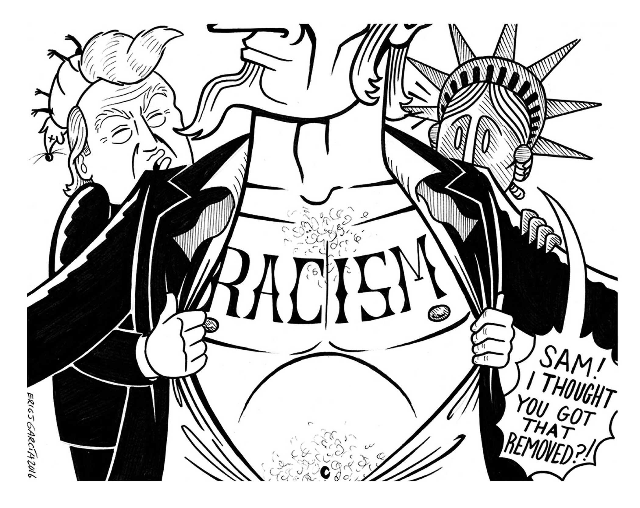 Eric J. Garcia , Drawing on Anger , pg. 169.