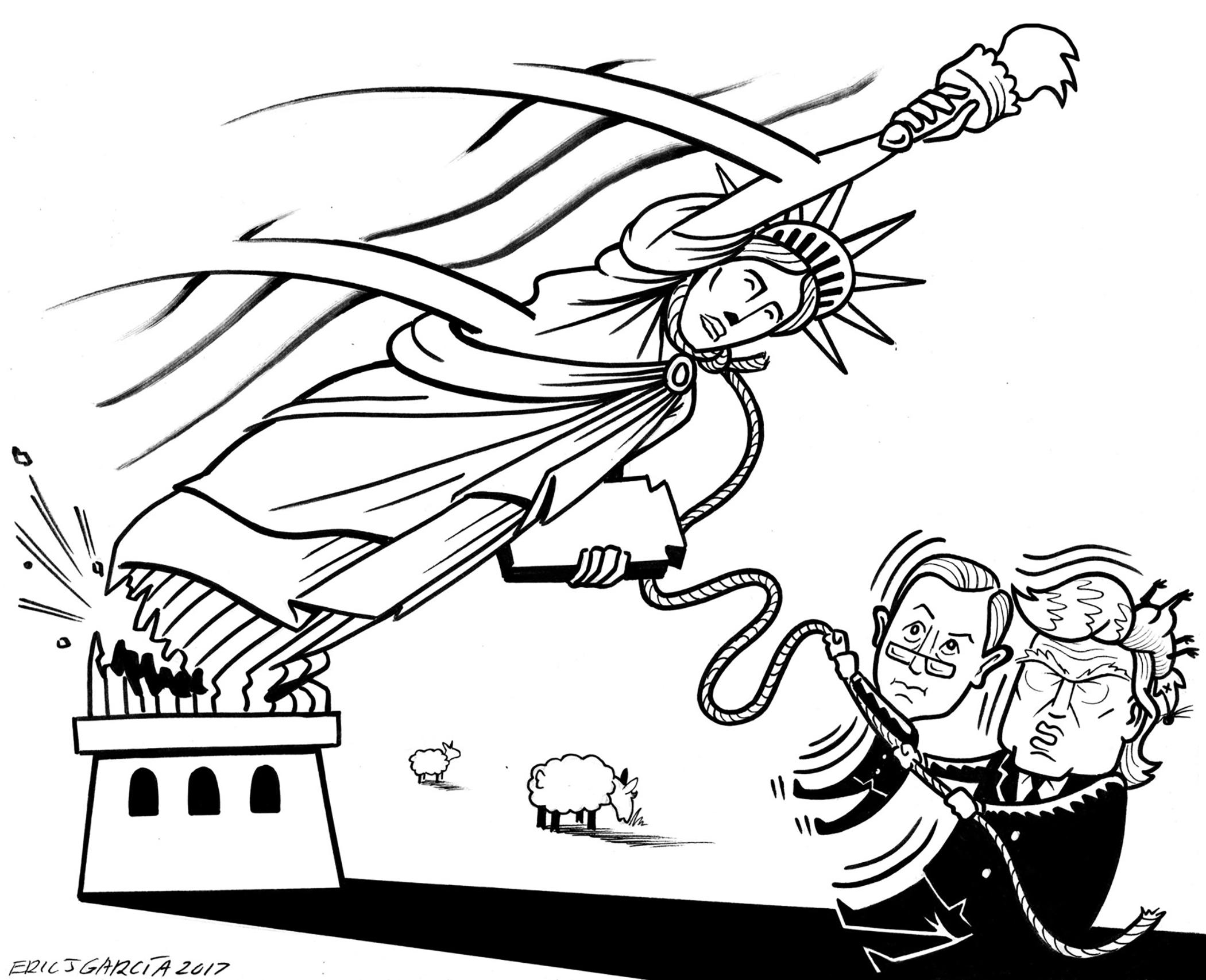 Eric J. Garcia,  Drawing on Anger,  pg. 180.