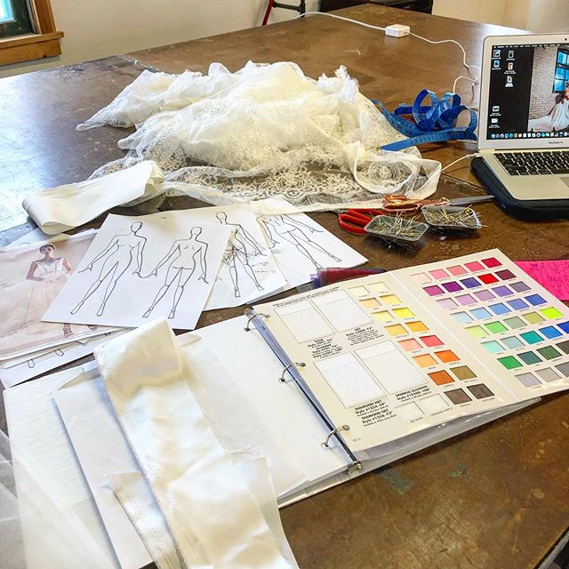 Not every day is sewing! Today is a day of planning! . . #customweddingdress #weddingdress #bridetobe #bridaldress #bride #countyup