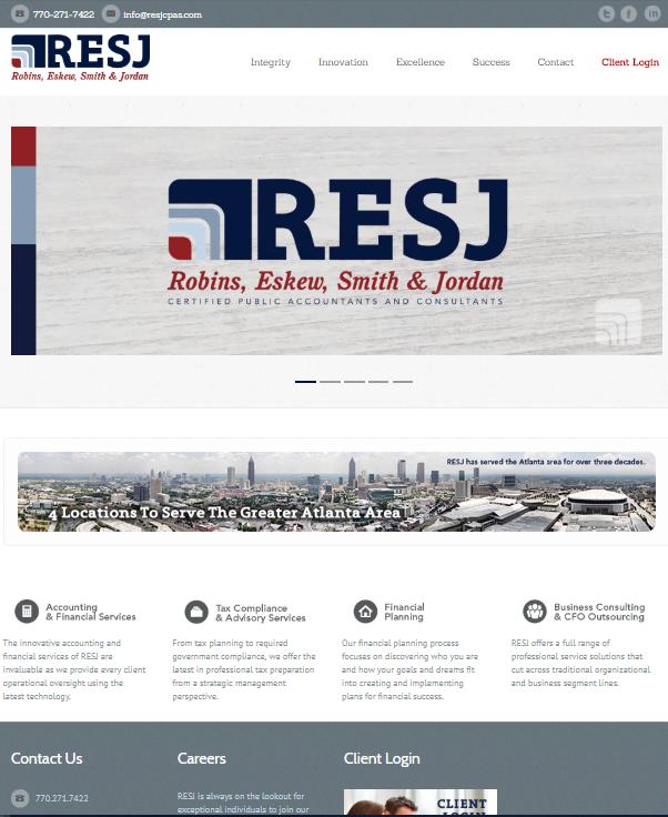 Previous Website -