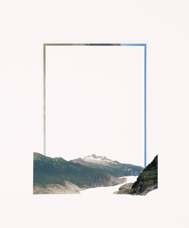 Mountain Range, 2017  17 x 14 inches  C-print on paper