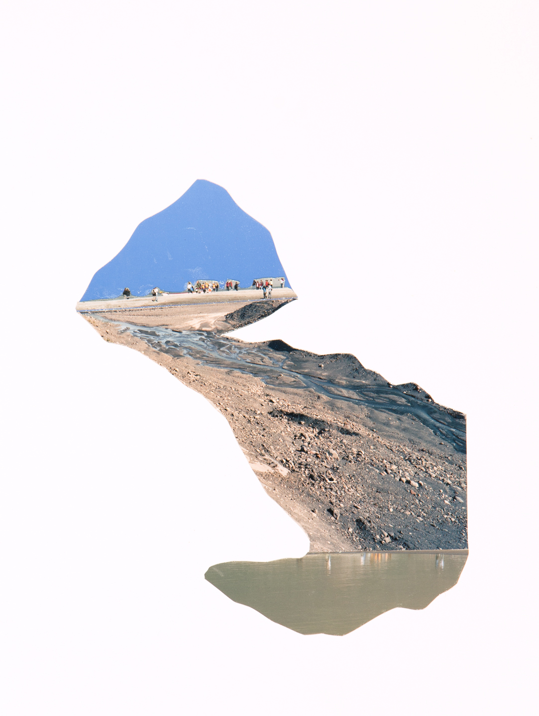 Landslide, 2017  12 x 9 inches  C-print on paper