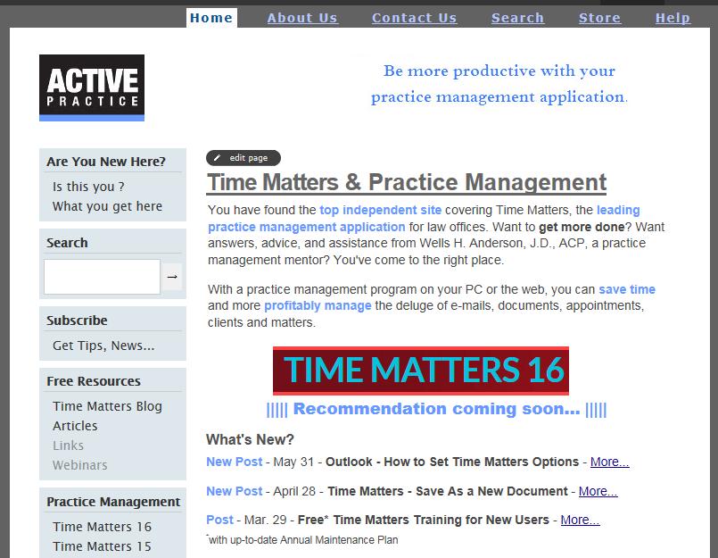 Active Practice Website 2.0