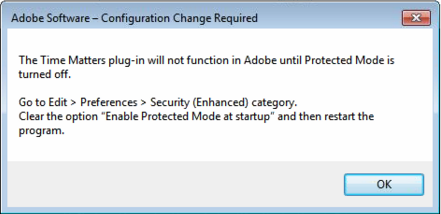 Clear the option: Enable Protected Mode at startup