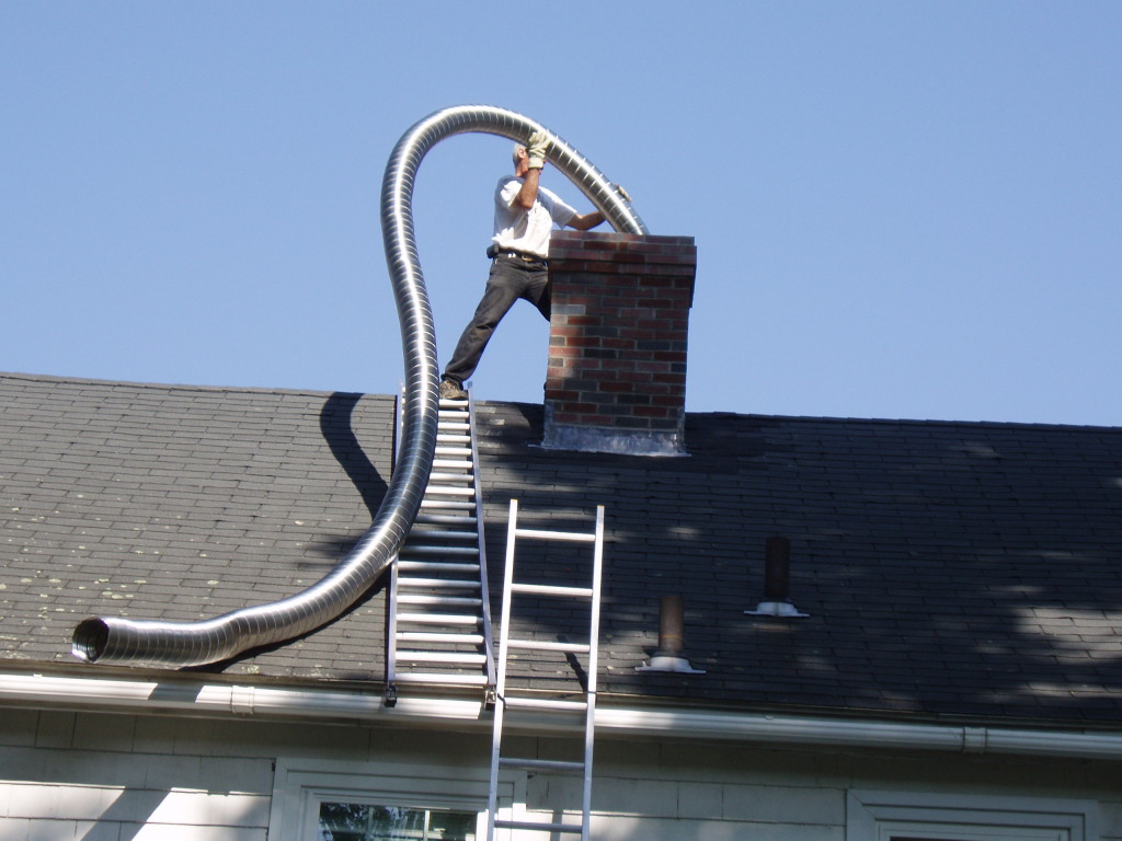 Chimney Relining and Fireguard Repair    Stainless Steel Insulated Relining     or Fireguard Concrete Repair!