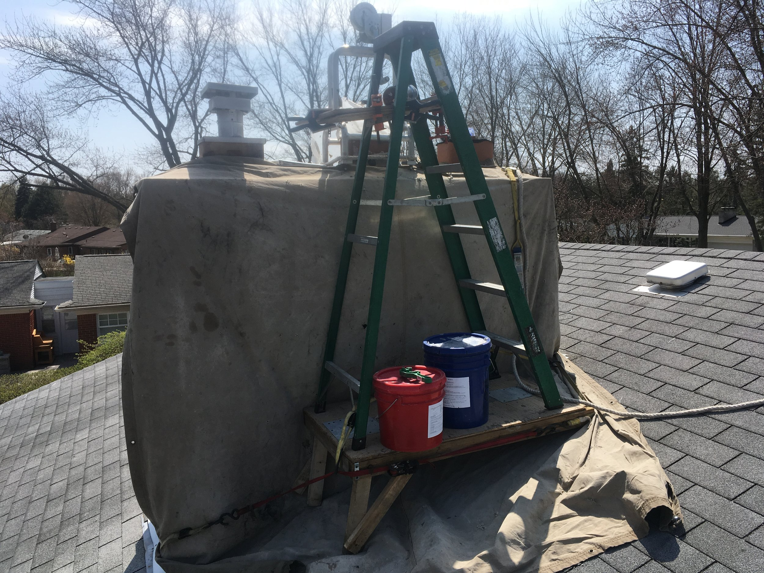 Chimney Relining and FIREGUARD repair   -