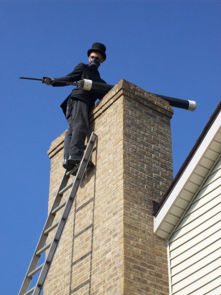 chimney sweep and inspection -