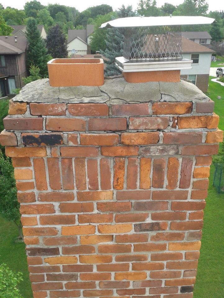 Masonry repair and tuck-pointing -