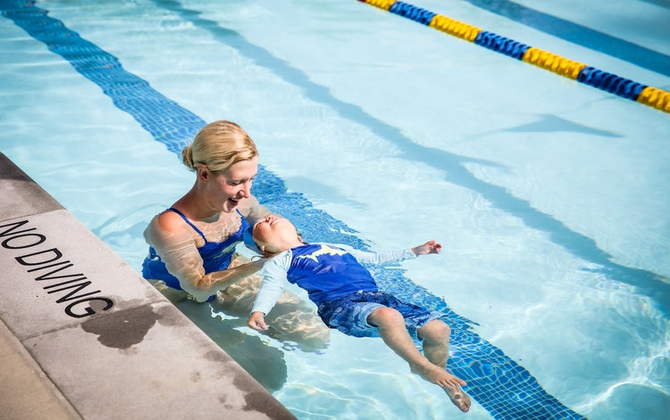Infant Water Safety lessons -