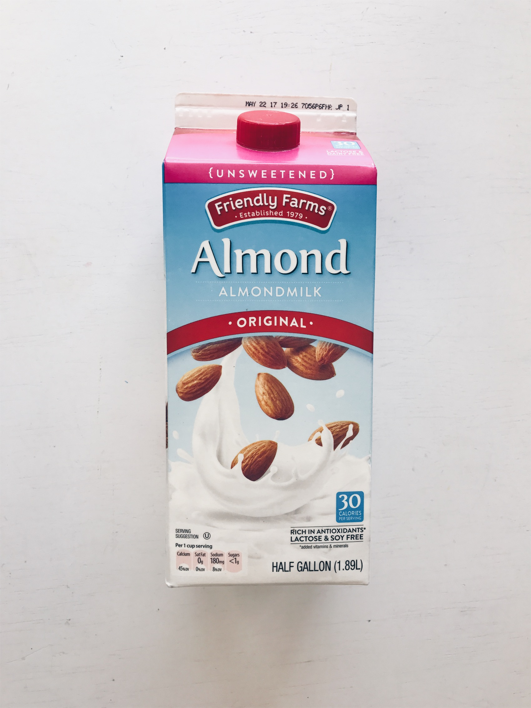 I absolutely love making my own almond milk, but sometimes you don't have time to soak the nuts for a recipe you want to make. I know I am crossing the line a little but on a pinch I will purchase this for recipe needs.