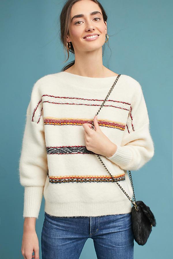 Oversized Stripe Wool