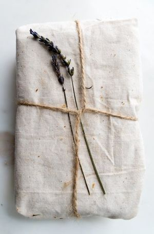 found on Pinterest. (wrap with fabric remnants)