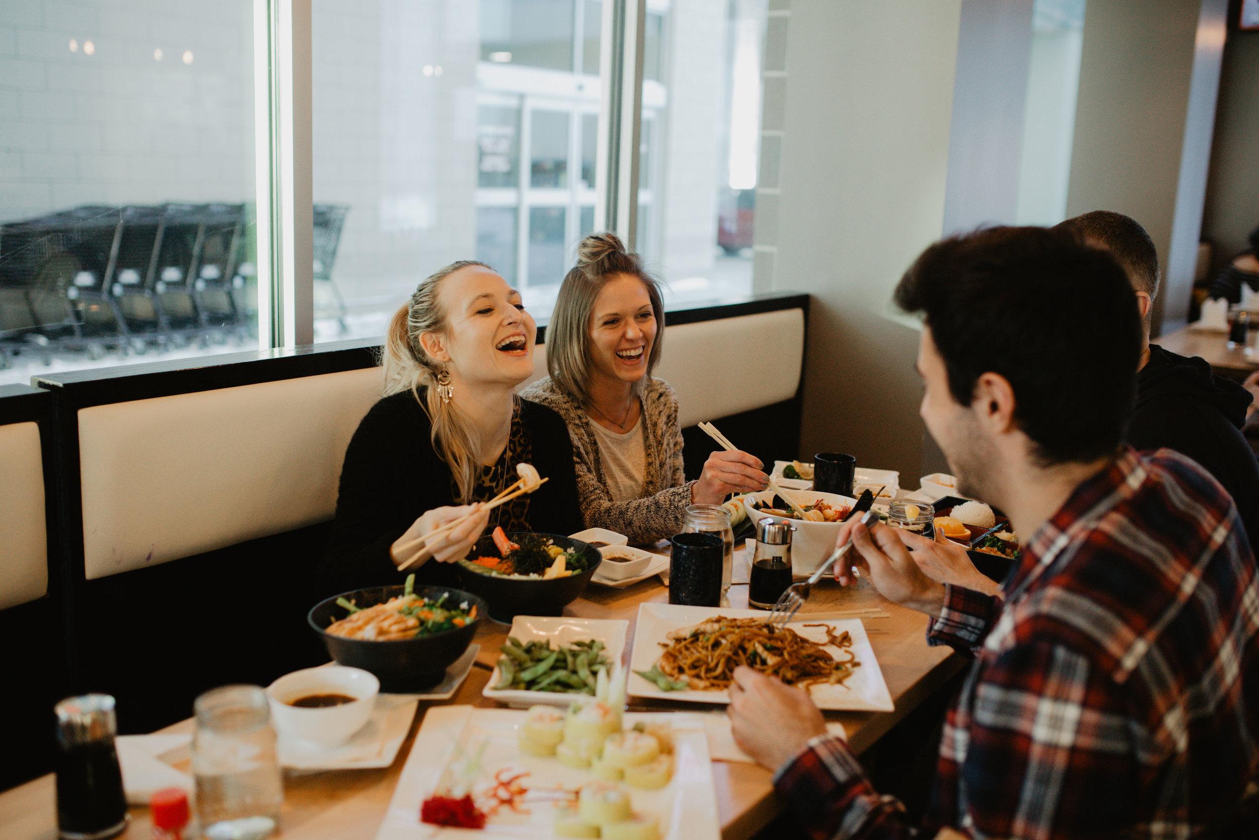 new asian restaurant - Ginza Sushi and Ramen Bar