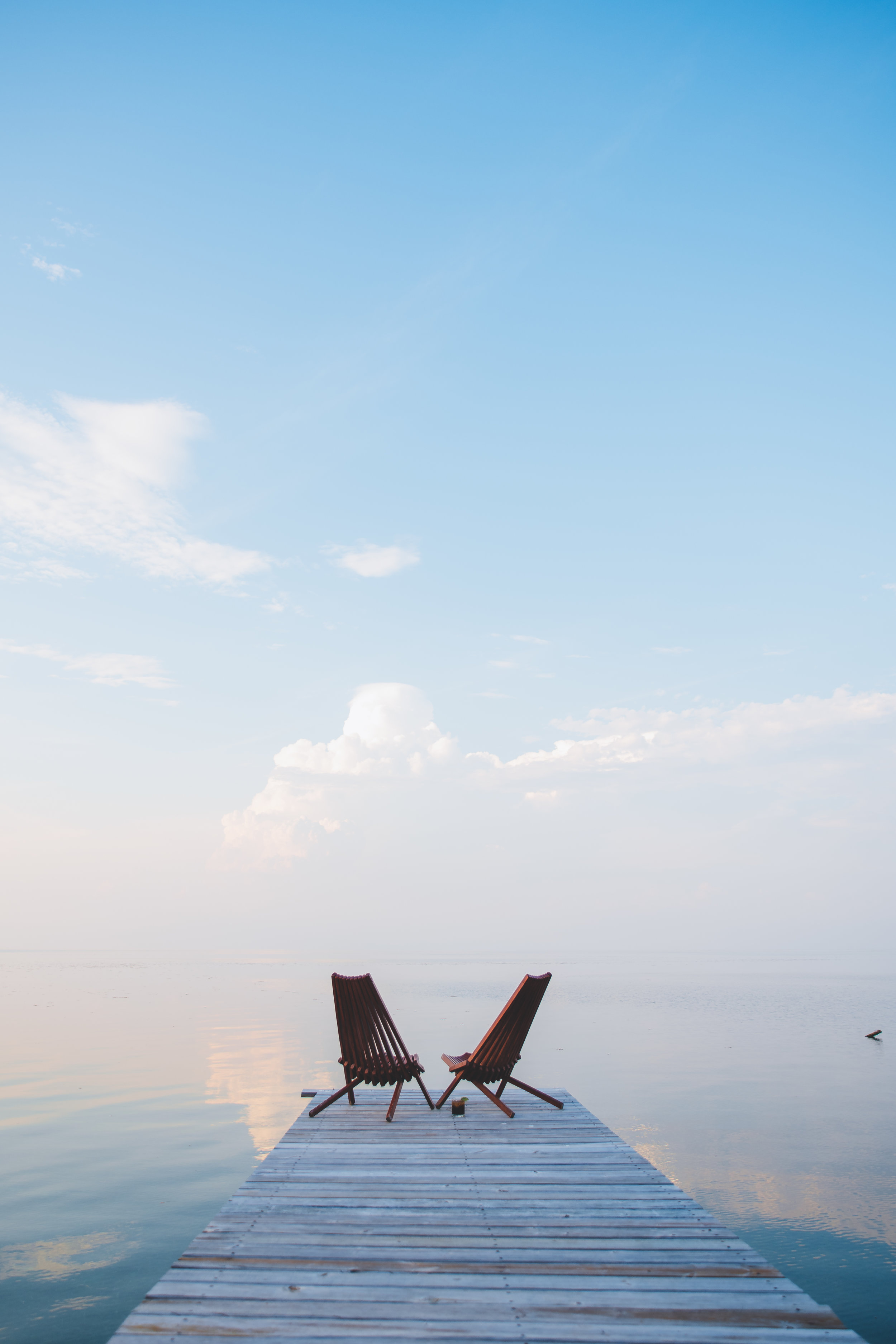 Belize - A tiny island off the coast of Belize, scuba diving three times a day every day, and a good dose of family time