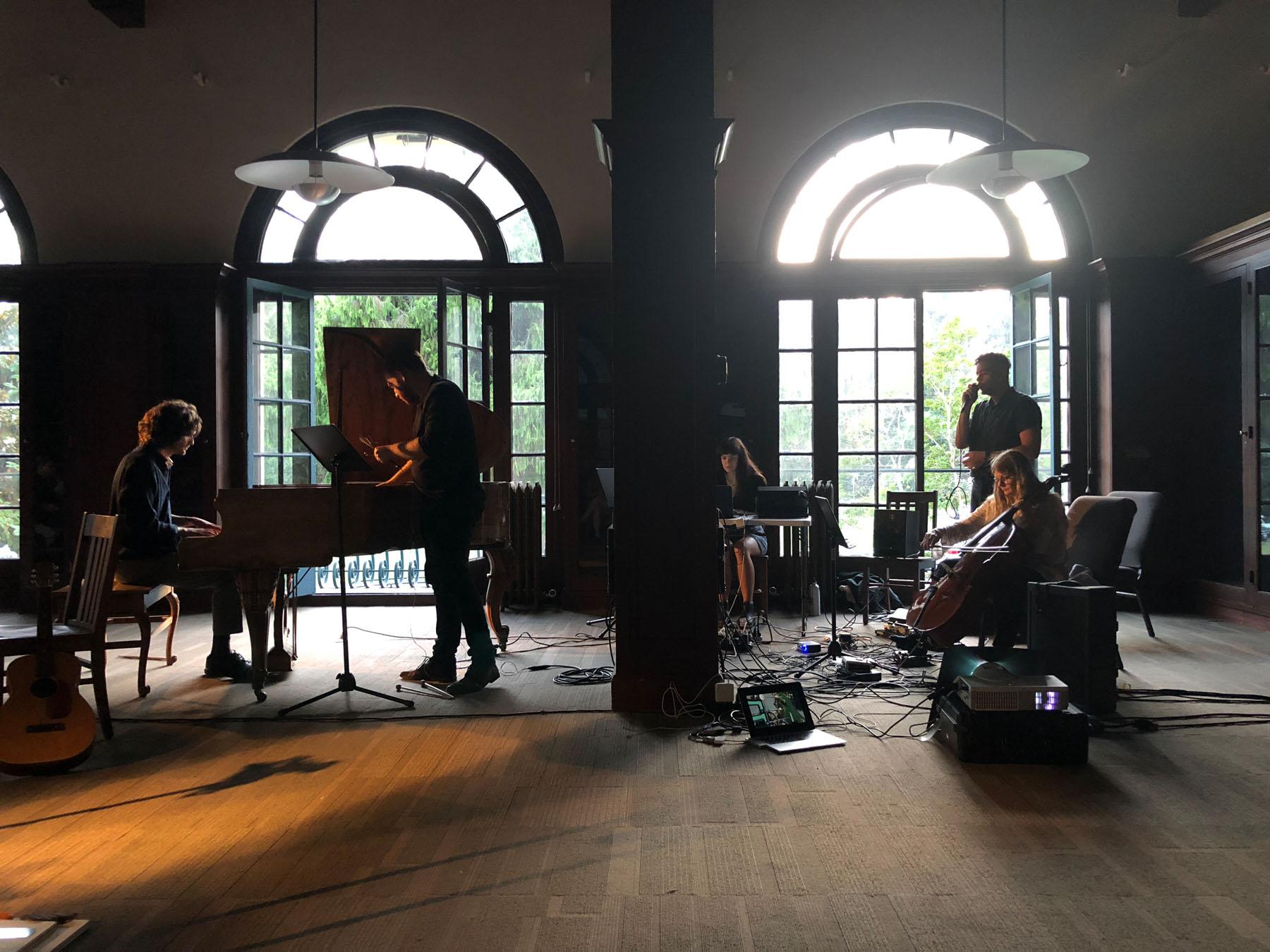 Stains for Cello and Piano , Kris Force with Brendan Glasson, Sally Decker, Tony Gennaro, and Rodolfo Córdova.