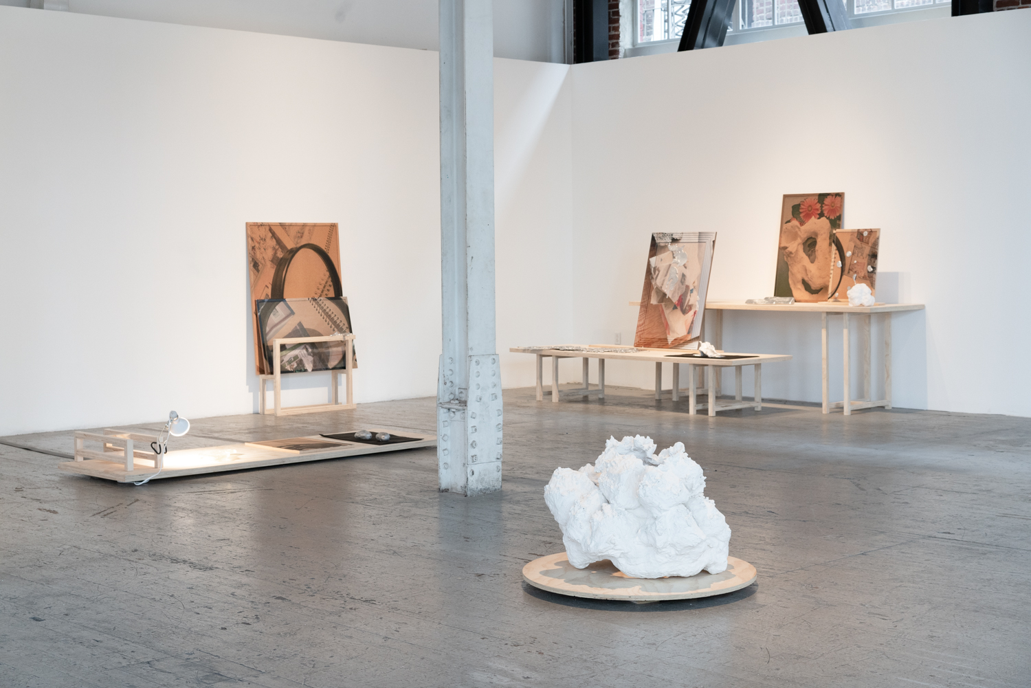The Burrow , exhibition view, 2019