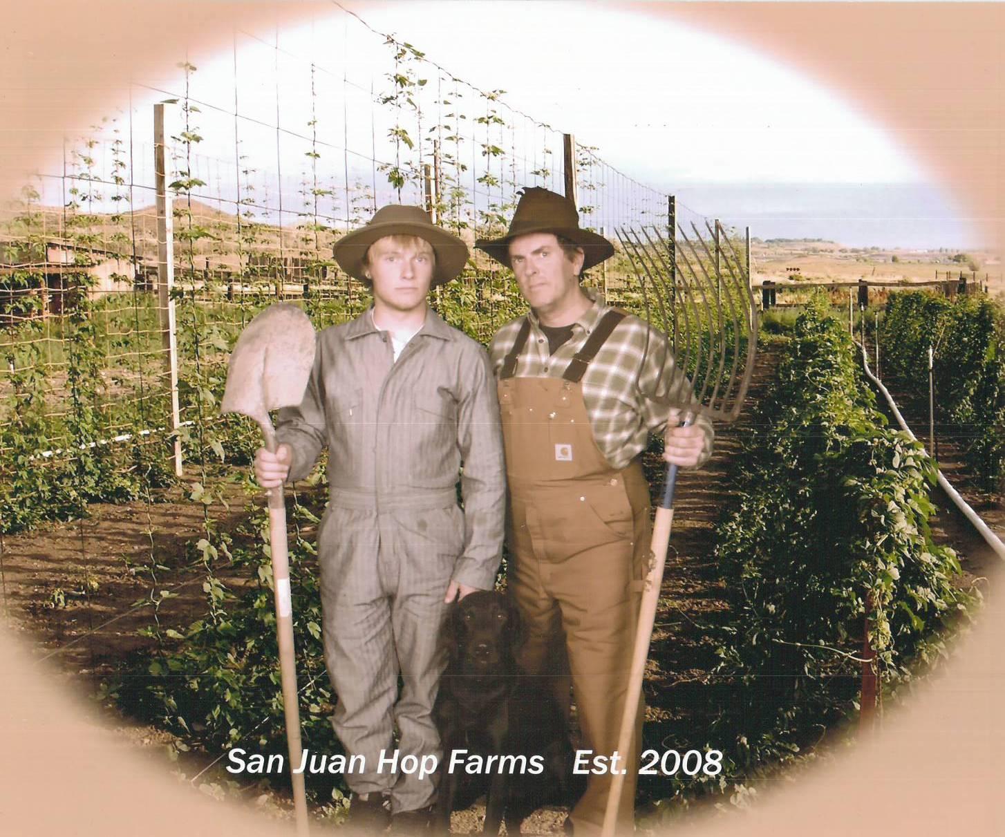 US Hops Source | San Juan Hops Farm