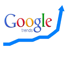 Google Trends   shows how often a particular search-term is entered relative to the total search-volume across various regions of the world, and in various languages