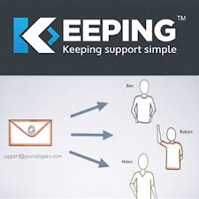 Keeping   Ticketing system to deliver better customer support from your current mailbox.