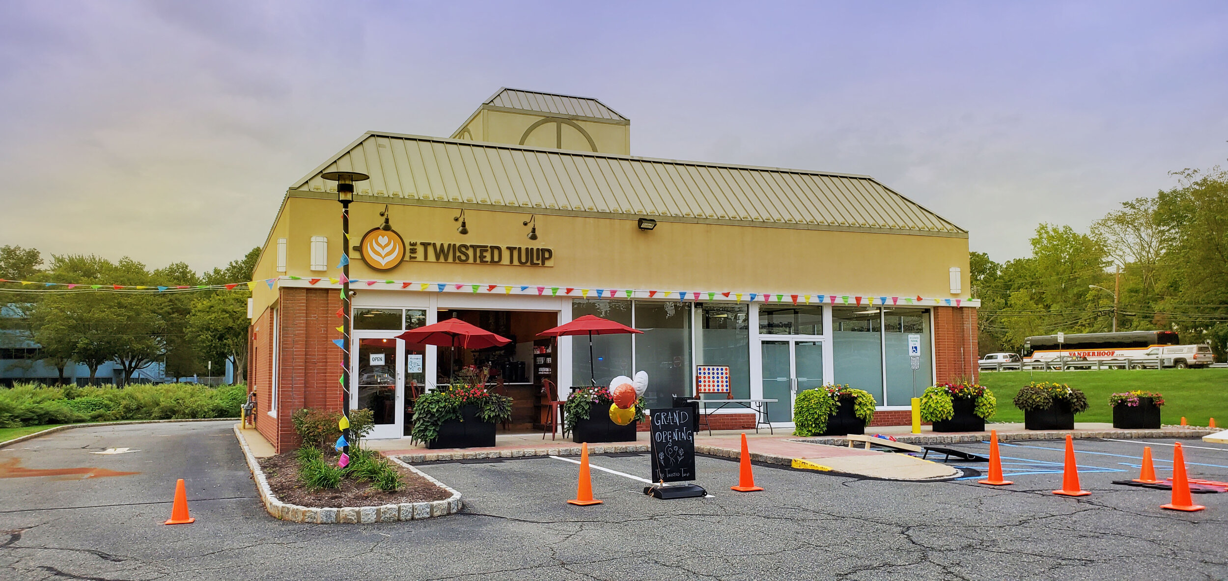 The Twisted Tulip #livingstonnj - The Twisted Tulip is a one of a kind coffee shop with so many kinds of snacks, teas, and some of the most incredible coffee you will find in New Jersey. Essex County and Livingston, NJ has truly stumbled across an incredible gem.