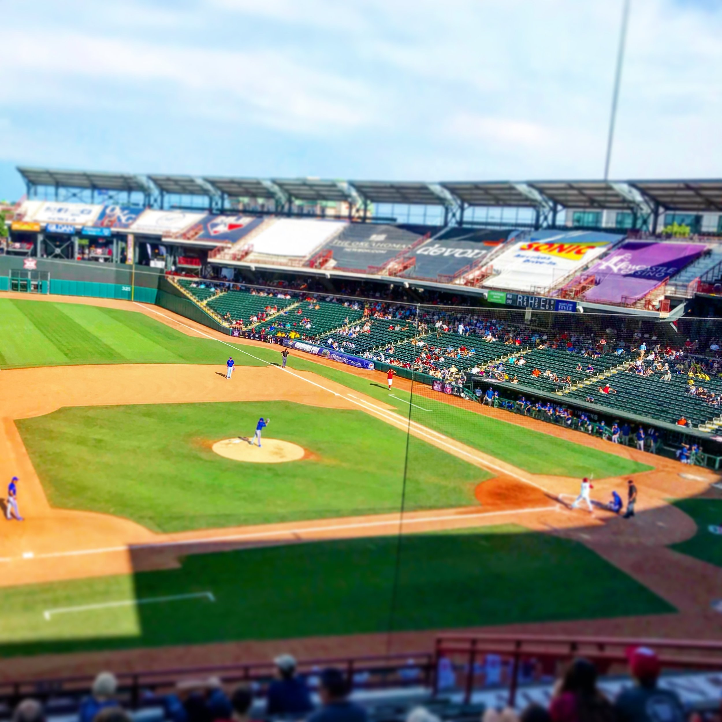 Chickasaw BricktownBallpark - Home of the OKC Dodgers and various entertainment events.