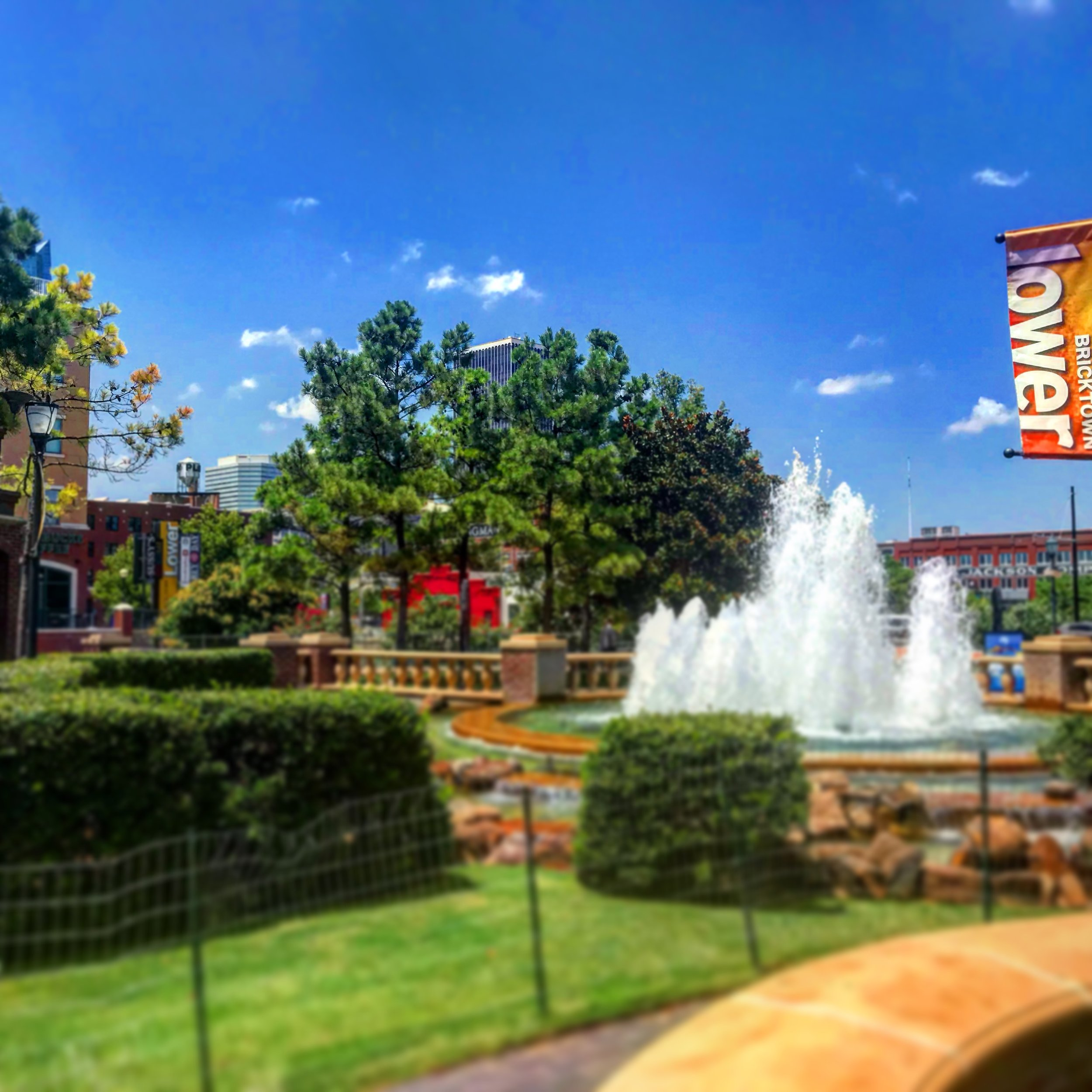The Fountain at Lower Bricktown