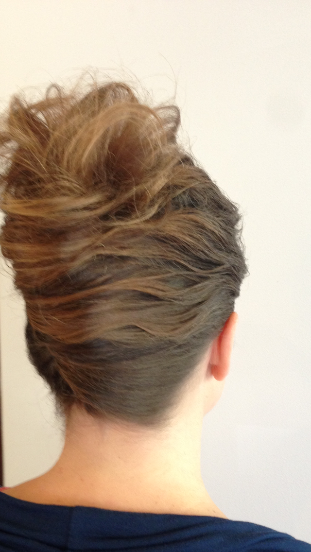 French Roll - This Classic Updo is perfect for an evening awards event or cocktail party.