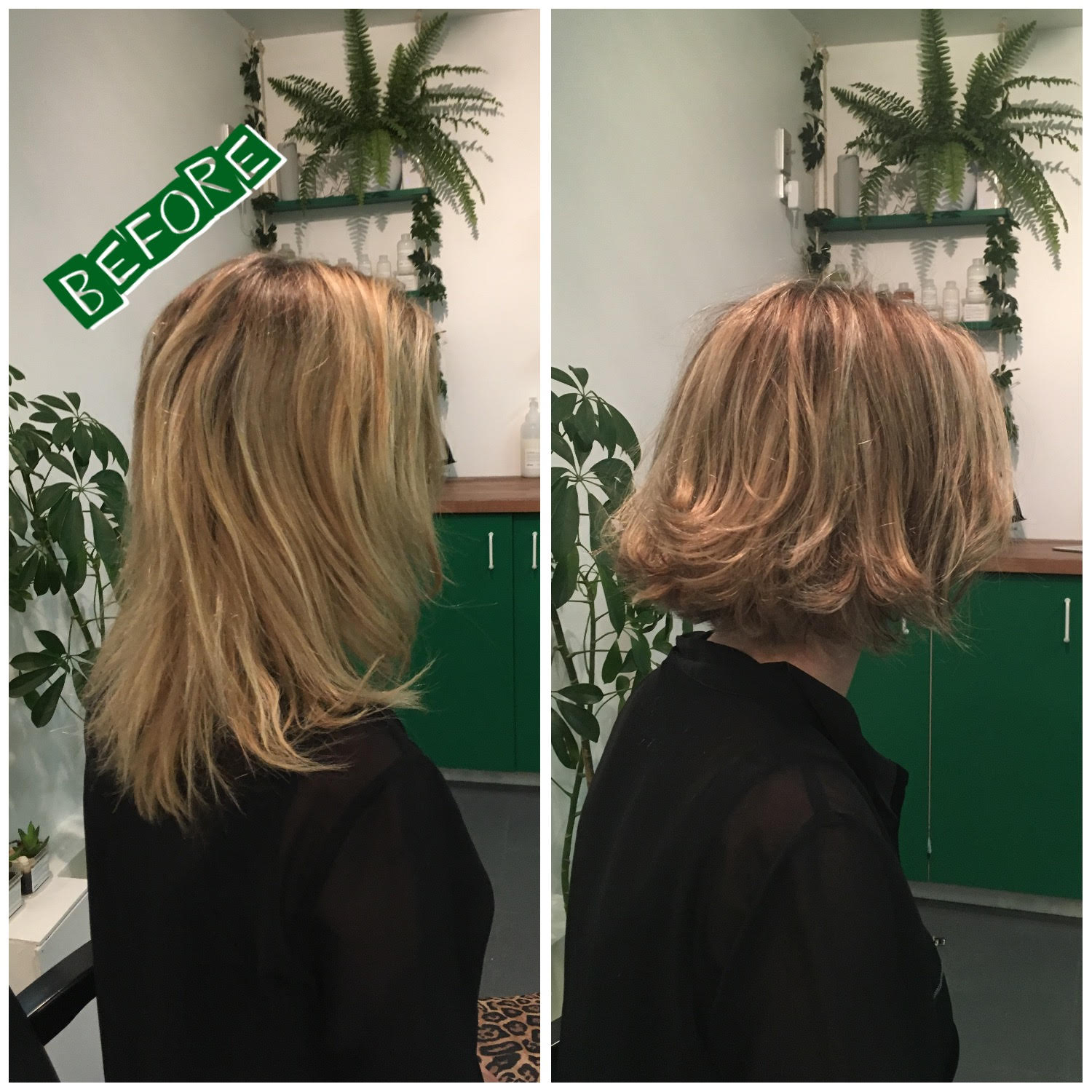 Chic & Stylish - Creating texture and dimension using low/high lights achieves a modern, natural look.This is a perfect blend for when your hair grows.