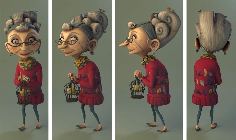 Maya 3D Character Model