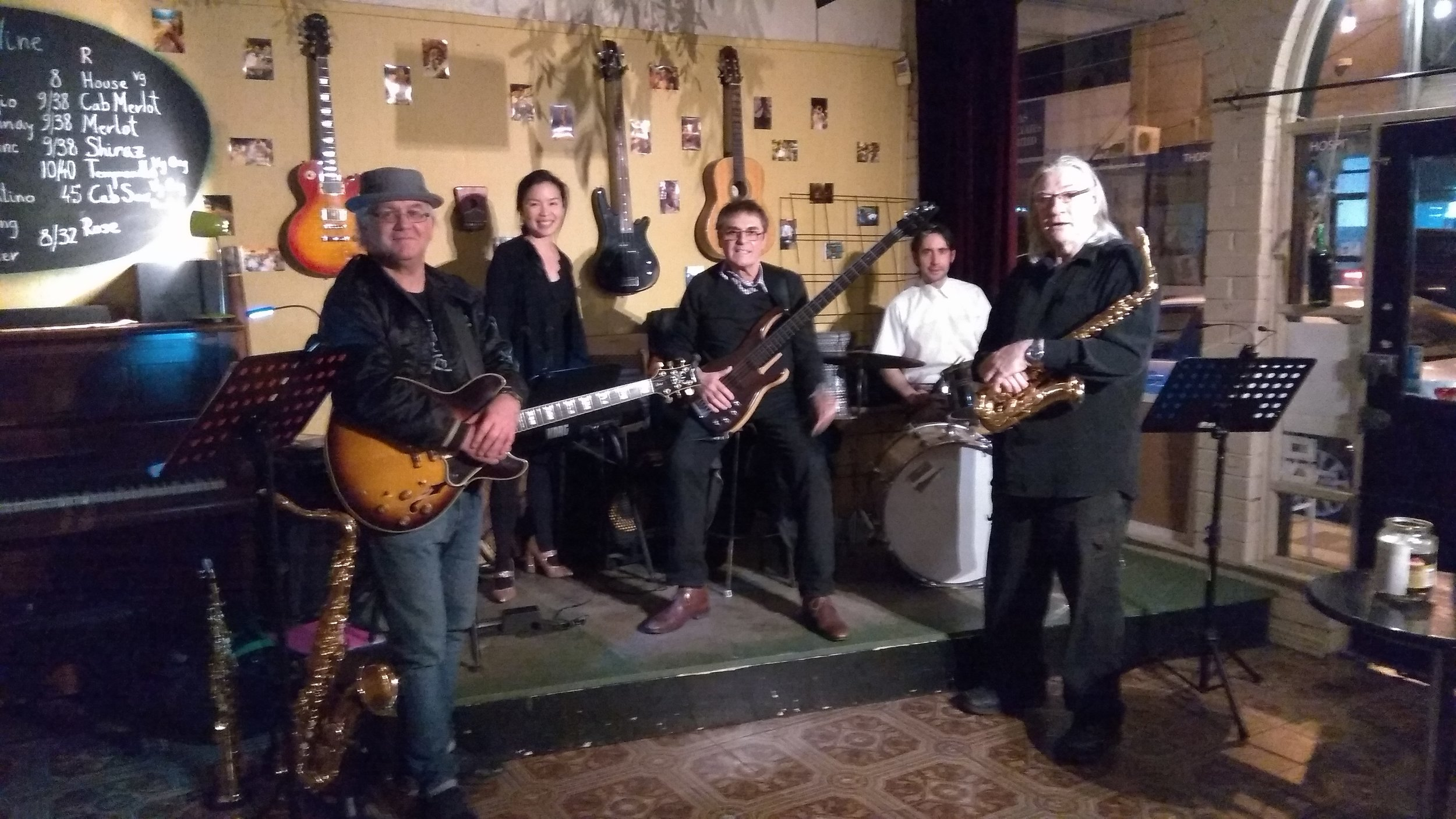 Neil, Kay, Ivan, Andre, Jeff (L-R)