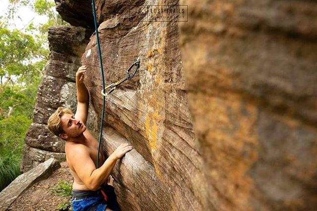 @kyleminors making sure work of 'Suspenders will do it' (19) at Blackwall Crag. • • • • • #newsouthwales #climbing #ilovesydney #bouldering #visitnsw #rockclimbing #climbing_pictures_of_instagram #australiagram #climb #nsw #seeaustralia #exploringaustralia #focusaustralia #exploreaustralia #ig_australia #igerssydney #cruising_australia #australia_shotz #xploresydney #wow_australia2016 #bondi #sydneylocal #climber #dailytelegraph #californialife #sydney #sydneyfolk #climbing #centralcoast