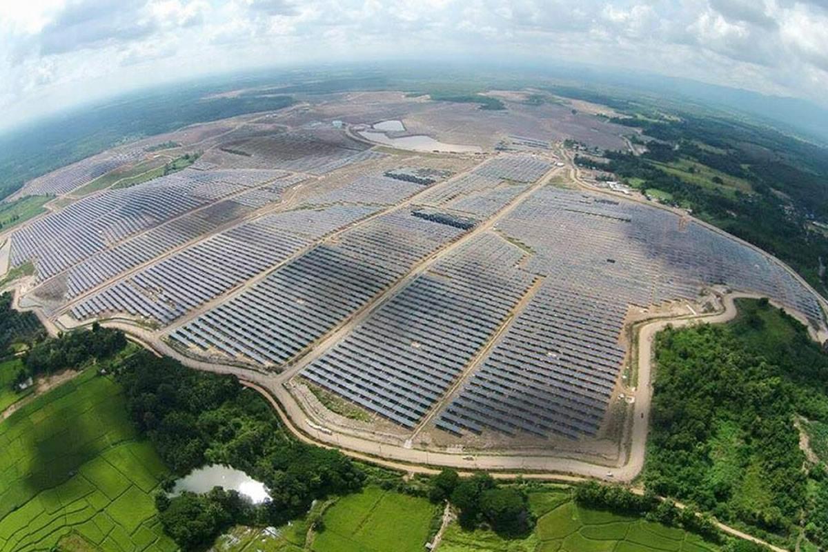 #2 - EA Solar Lampang Plant - Image: VTG Corp